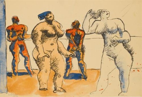 quatre personnages by le corbusier