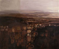 evening landscape by arthur armstrong