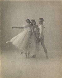 alicia alonso, andre eglevsky, and nora kaye, new york by irving penn