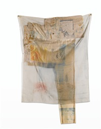cleat (hoarfrost) by robert rauschenberg