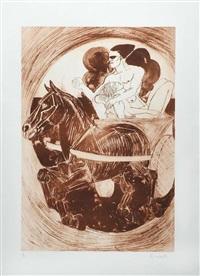 lovers by elisabeth frink