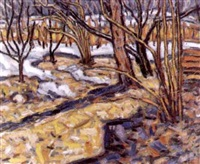 fin de l'hiver by anatoli usachev