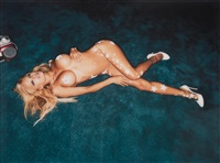 pamela anderson: hollywood nights by david lachapelle