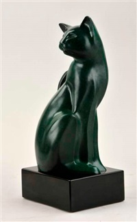 green cat by mark leichliter