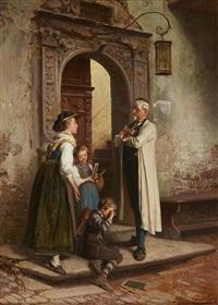 The Little Mishap, 1880