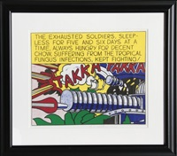 takka takka by roy lichtenstein