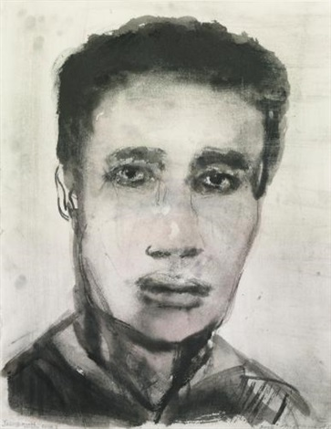 young man middle east by marlene dumas