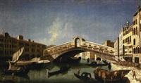 venezia, il ponte di rialto by francesco albotto