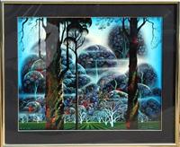 myst in the dark woods by eyvind earle