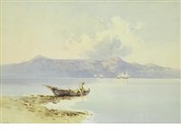 a fisherman off corfu (+ another; 2 works) by angelos giallina