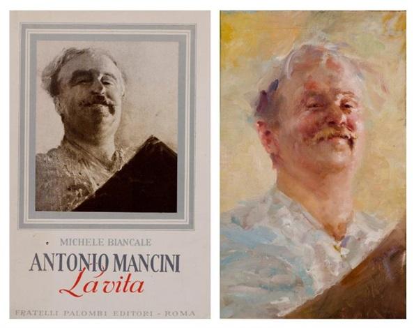 autoportrait - autoritratto by antonio mancini