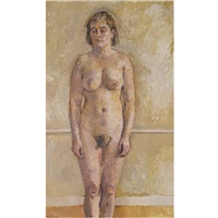 standing nude by william coldstream