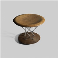 rocking stool, model 85t by isamu noguchi