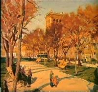 le parc a zaporojie by mikhail akinchine