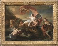 il trionfo di galatea by corrado giaquinto
