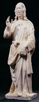 cristo benedicente by agostino di duccio