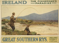 ireland/the fisherman's paradise/great southern rys by walter till