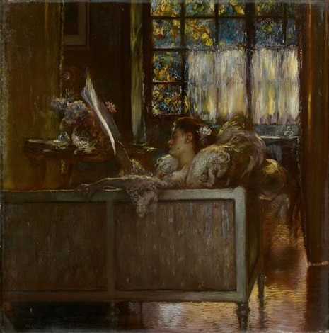 le canapé by gaston la touche