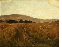 landscape by fritz baer