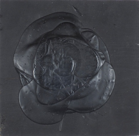 schwarze rose haufen by dieter roth