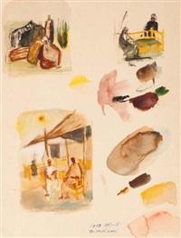 trois études (studies) by ismael al-sheikhly