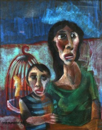 mother and child ii by onib olmedo