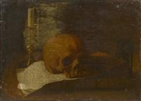 vanité au crâne by jacques linard
