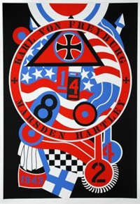 the hartley elegies: berlin series, kvf ii by robert indiana