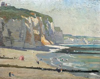 les fallaises, dieppe by adrian paul allinson
