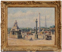 place de la concorde, paris by caroline helena armington