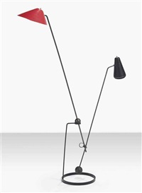 equilibrium floor lamp by pierre guariche