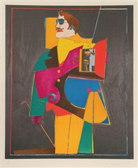 heart (from the after noon portfolio) by richard lindner