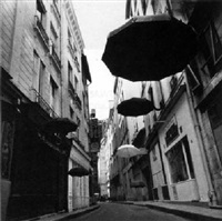 six +1/2 umbrellas, paris by nigel scott