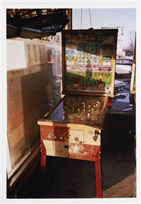 pinball machine by william eggleston