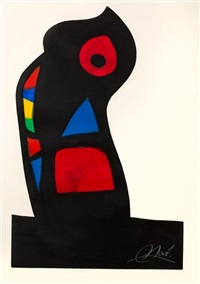 l'oustachi by joan miró