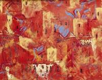 le ksar rouge et or - aït ben haddou - maroc by patrice laurioz