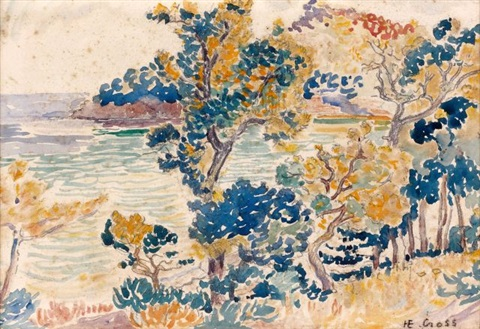 le cap nègre by henri edmond cross