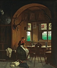 the seamstress by franz meyerheim
