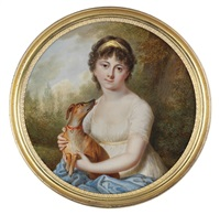 pauline-jeannette glashoff by pierre louis bouvier