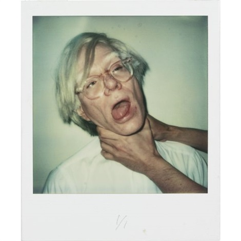 Andy being choked by Andy Warhol on artnet
