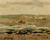 bord de mer en normandie by alain fournier