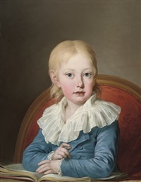 portrait of archduke josef franz leopold of austria by josef kreutzinger