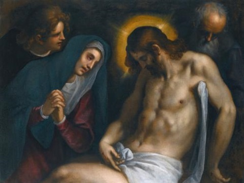 the deposition by jacopo palma il giovane