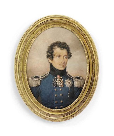 Prince William of Prussia 1783-1851, in military uniform