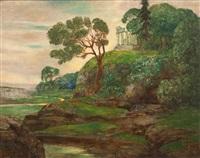 arkadische landschaft by alexander frenz