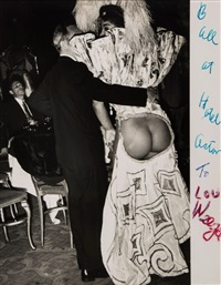 ball at hotel astor, 1950s by weegee
