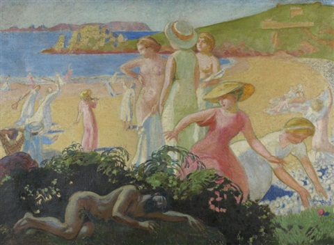 nausicaa le sommeil dulysse by maurice denis