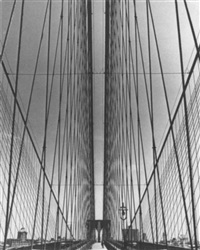 new york, brooklyn bridge by klaus lehnartz