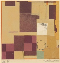 mz. re by kurt schwitters