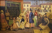 christmas shopping in sydney one hundred years ago by raymond lindsay